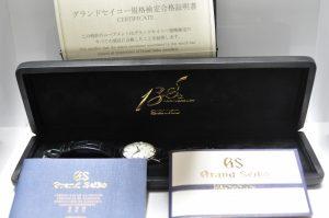 GRAND SEIKO HISTORICAL COLLECTION SBGW039 SEIKO創業130周年記念モデル Limited Edition